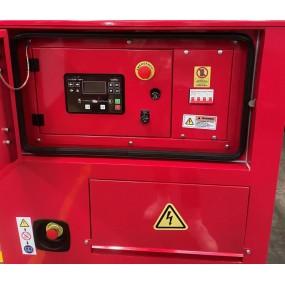 KOMPAK Groupe électrogène 6400W Diesel 230V/400V K8000LE-T